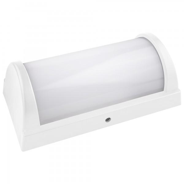 Aplique led ip65 blanco 268x140mm.20w.fr