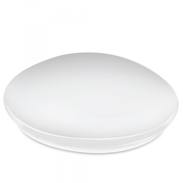 Aplique led redondo  blanco 18w.calida