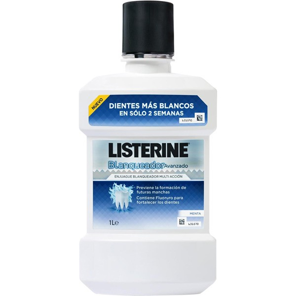 Listerine blanqueador 1000 ml