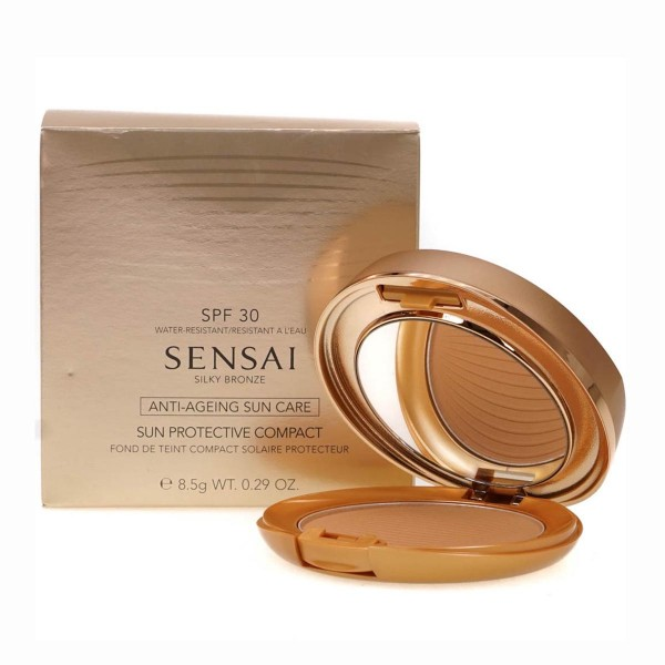 Kanebo sensai bronzing foundation sun protective sc04 8 5gr