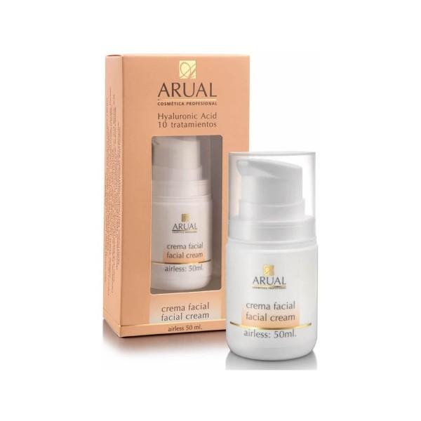 Arual acido hyaluronico crema facial 10 tratamientos 50ml