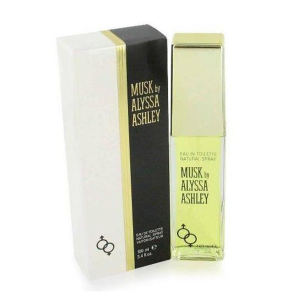 Alyssa ashley musk eau de toilette 100ml vaporizador