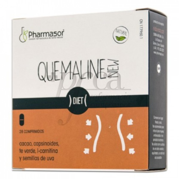 QUEMALINE NEW CON EXTRACTO CACAO 28 COMPS