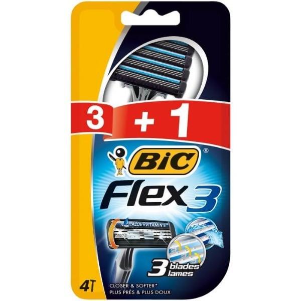 Bic Flex 3 3+1uds