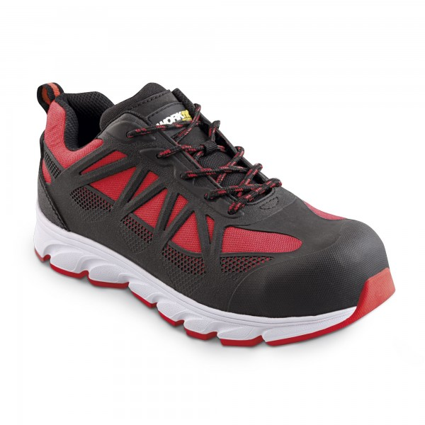Zapato seg. workfit arrow rojo n.45