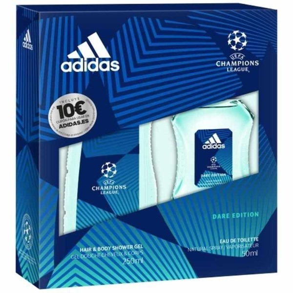 Adidas set Dare Edition gel de ducha 250 ml + EDT 50 ml