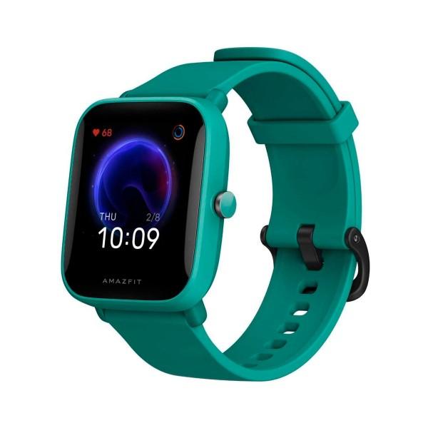 Xiaomi amazfit bip u verde smartwatch 1.43'' táctil bluetooth pulsómetro notificaciones inteligentes