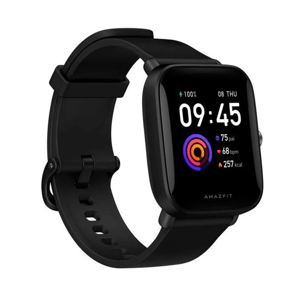 Xiaomi amazfit bip u pro negro smartwatch 1.43'' táctil gps bluetooth pulsómetro notificaciones inteligentes