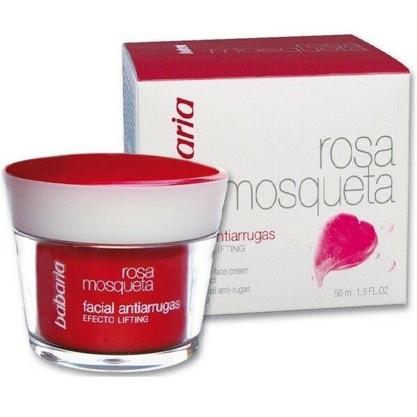 Babaria rosa mosqueta facial anti-arrugas efecto lifting 50ml