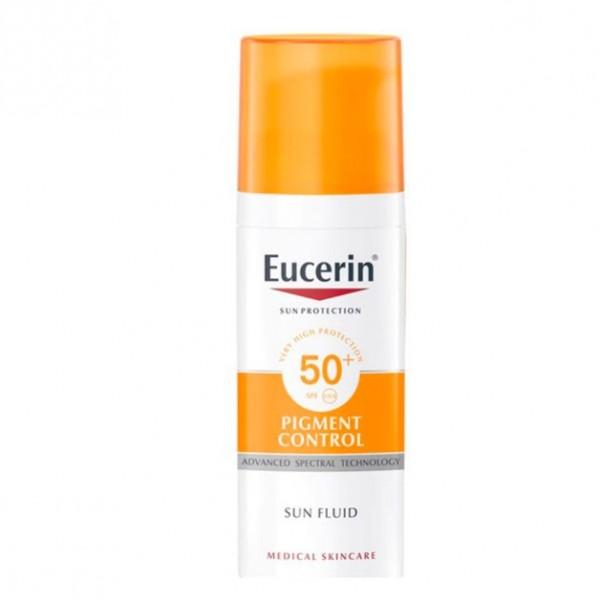 EUCERIN PIGMENT CONTROL SPF50+ SUN FLUID 50 ML